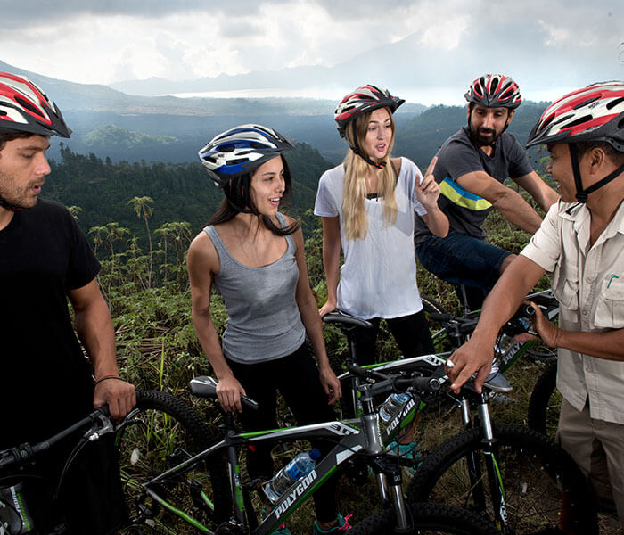 Mountain Cycling 5 - Cycling & Trekking Gallery - Mason Adventures (Bali Adventure Tours)