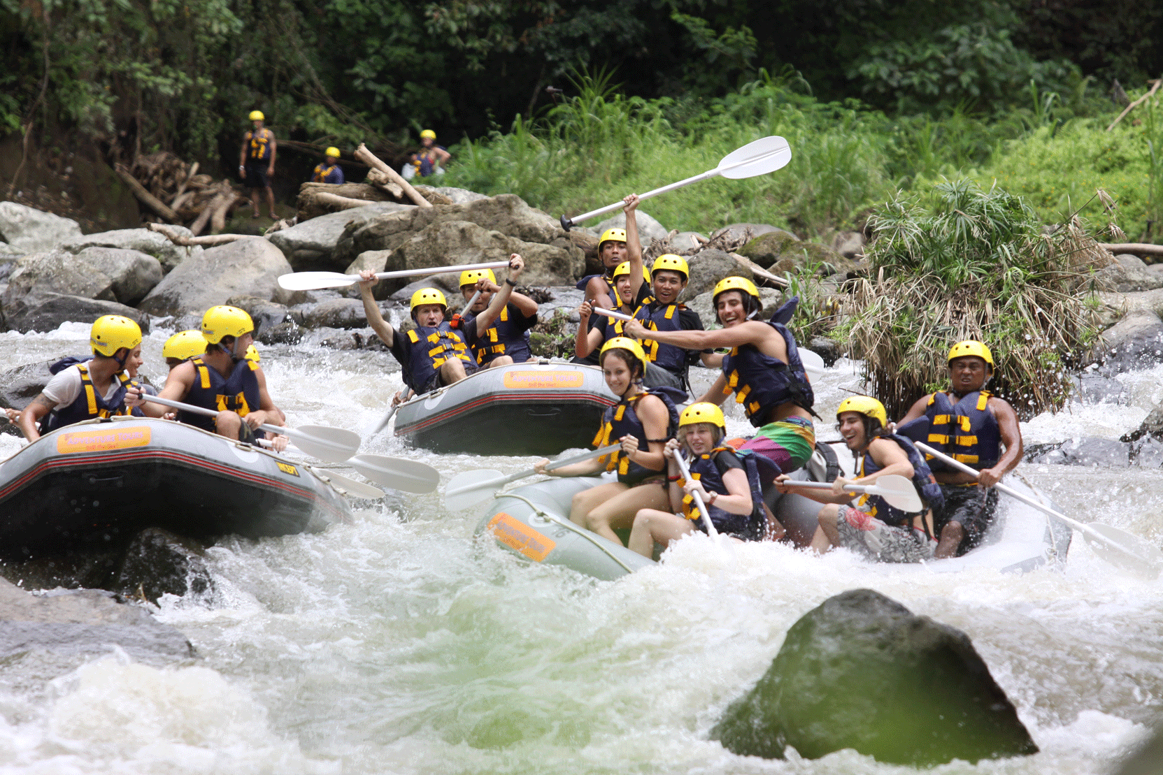 Experience White Water Rafting Adventures in Bali