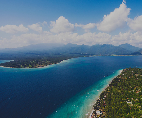 GILI ISLANDS GETAWAY FLIGHT