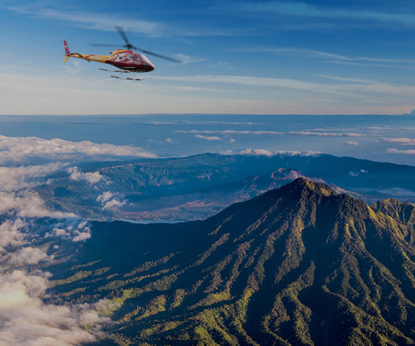 KINTAMANI VOLCANO FLIGHT