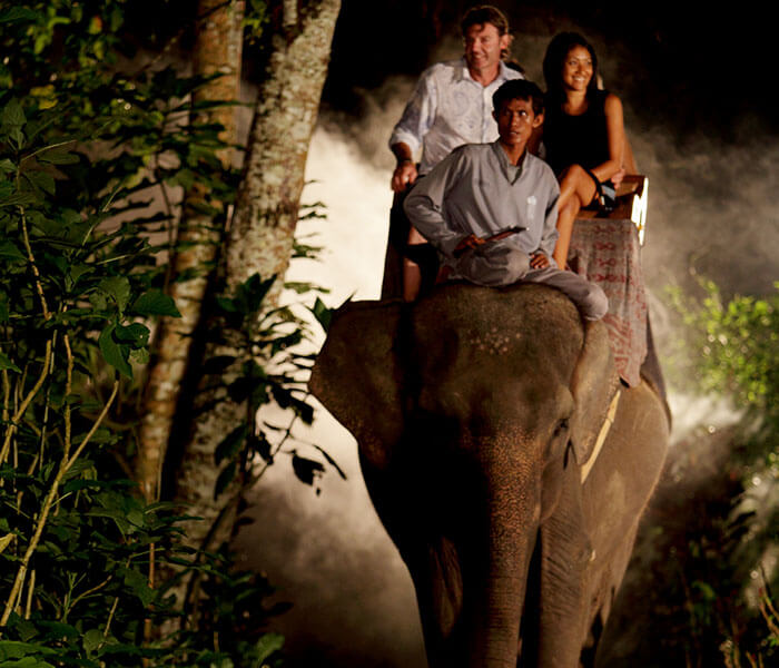 night safari in Bali
